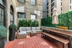 You can have it all Private Terrace 2 Bed 2 Bath on Gramercy Park
